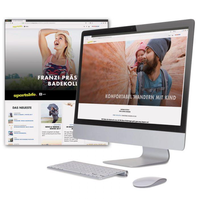 Online Magazine / Apps